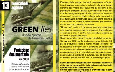 Green Lies: il volto sporco dell'energia pulita