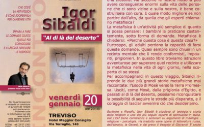 IGOR SIBALDI – AL DI LA' DEL DESERTO