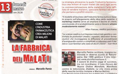 LA FABBRICA DEI MALATI – Marcello Pamio