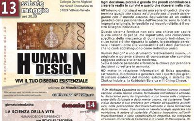 HUMAN DESIGN – Vivi il tuo disegno esistenziale
