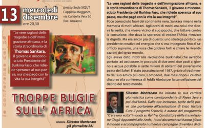 TROPPE BUGIE SULL' AFRICA