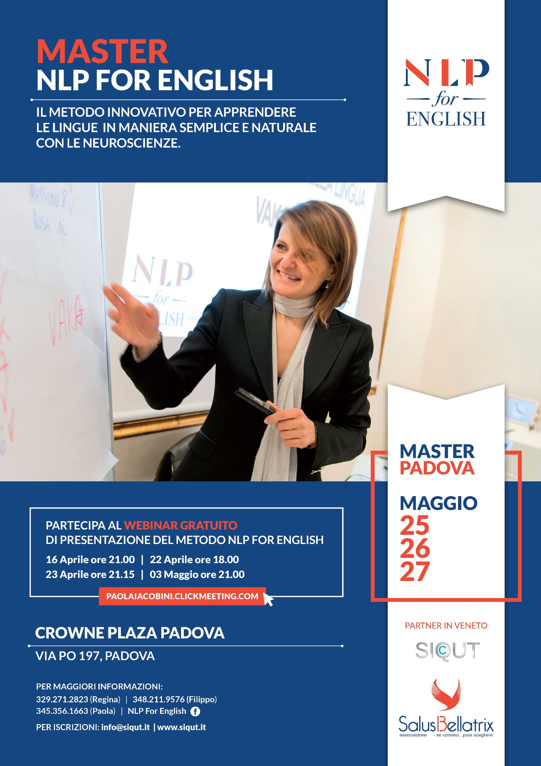 Master NLP for English – Padova