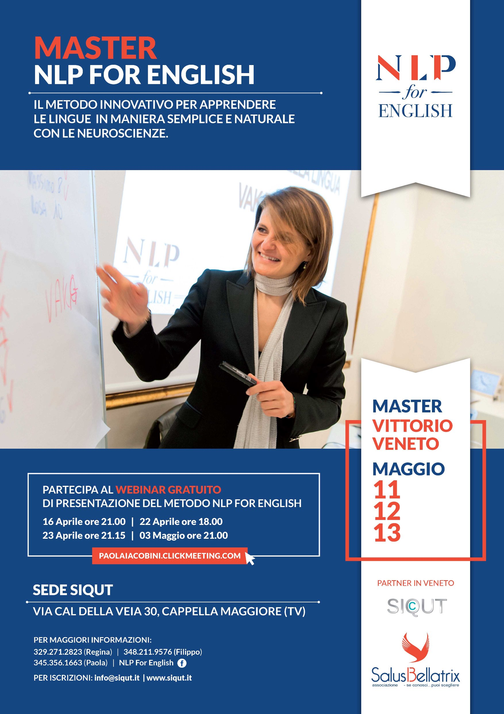 Master – NLP for English – Vittorio Veneto