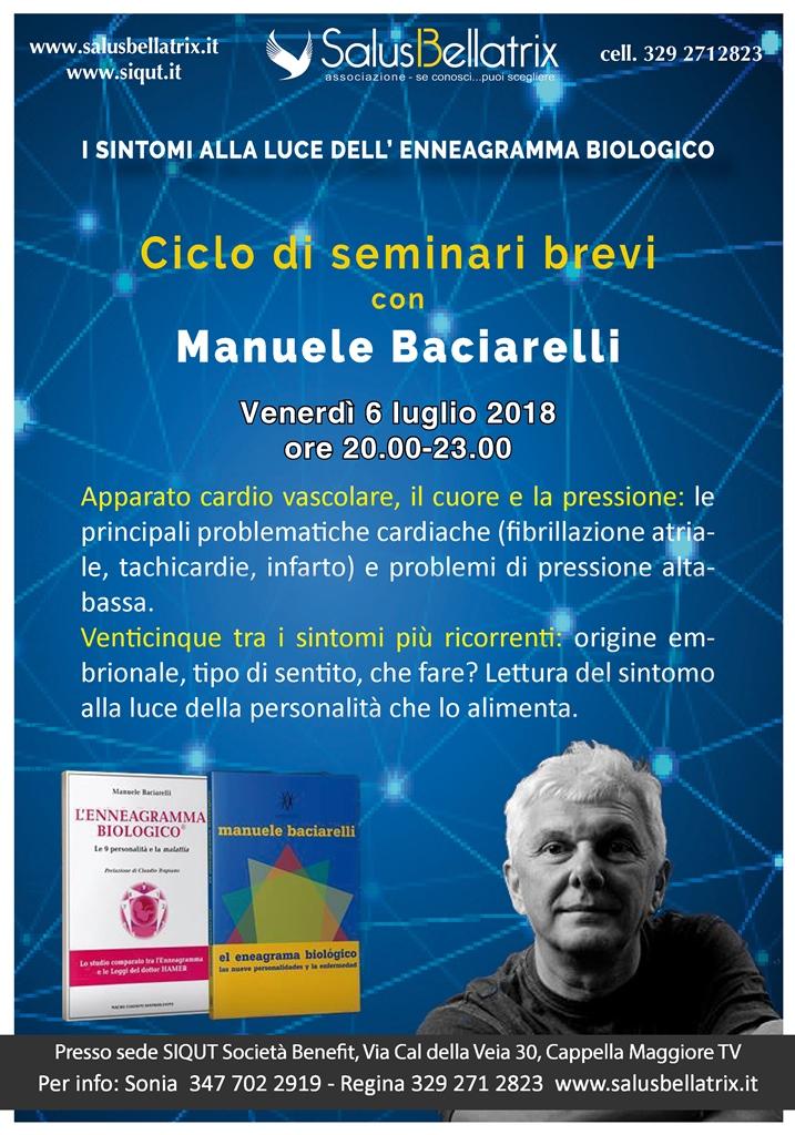 Seminario breve con Manuele Baciarelli – Il CUORE, la PRESSIONE e l'APPARATO CARDIOVASCOLARE