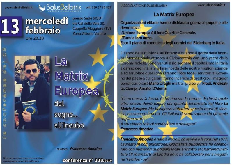 LA MATRIX EUROPEA – dal sogno… all'incubo