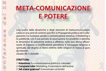 META-COMUNICAZIONE  E POTERE