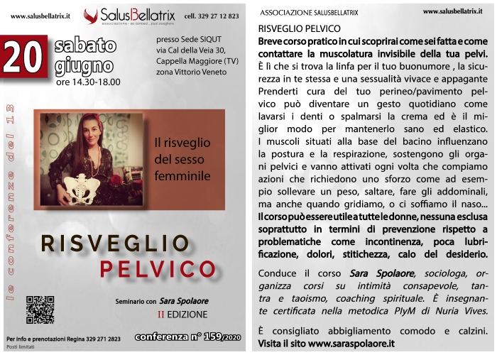 RISVEGLIO PELVICO – II EDIZIONE